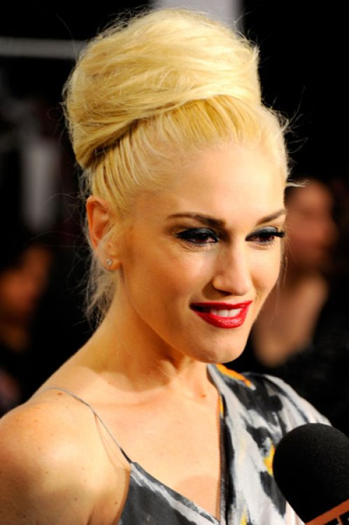 Gwen Stefani's Messy Bun