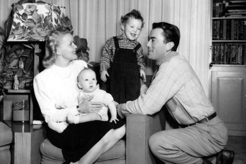 Gregory Peck, His son, Jonathan Peck