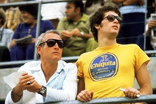 Paul Newman, His son, Scott Newman