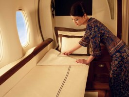 luxurious airlines