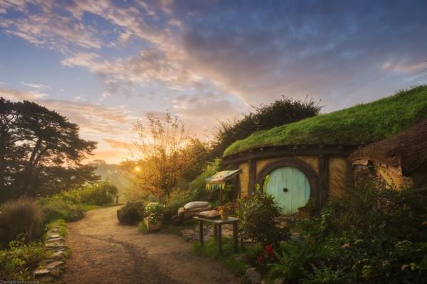 Hobbiton village - New Zealand