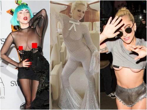 Lady Gaga Spotted in NO UNDERWEAR