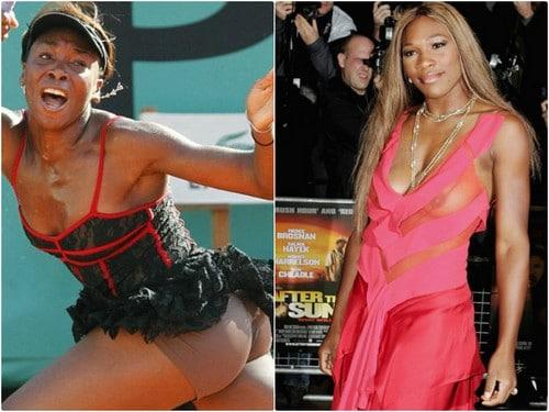Serena Williams Spotted in NO UNDERWEAR
