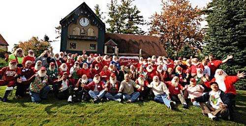Charles W. Howard Santa Claus School in Midland, Michigan