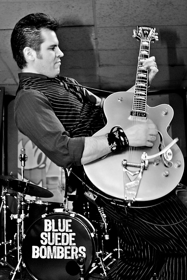 Blue Suede Bombers Asbury Lanes