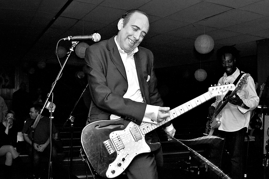 Mick Jones at Asbury Lanes