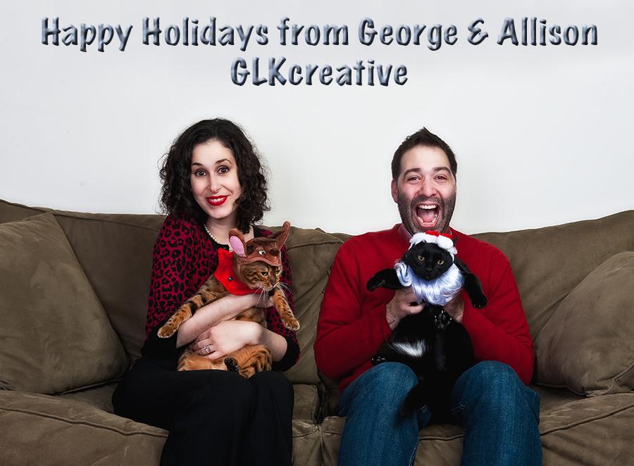 Happy Holidays from GLK Creative