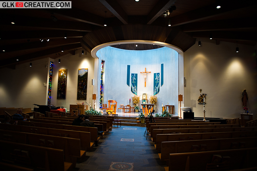 The colors at St. Thomas More Church in Manalapan, NJ are simply stunning.