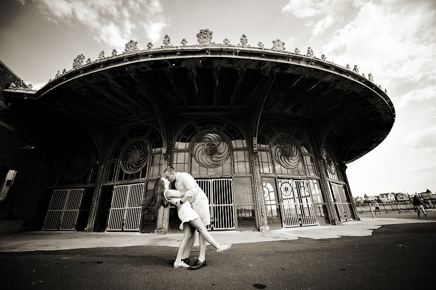 Asbury Casino Engagement Session
