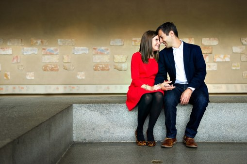 Caren & Adam's Metropolitan Museum of Art Engagement Photos