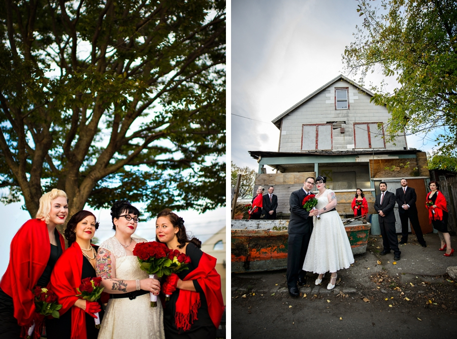 Rockabilly Wedding at City Island Lobster House {Emma & Chris} | Rock & Roll Wedding ...