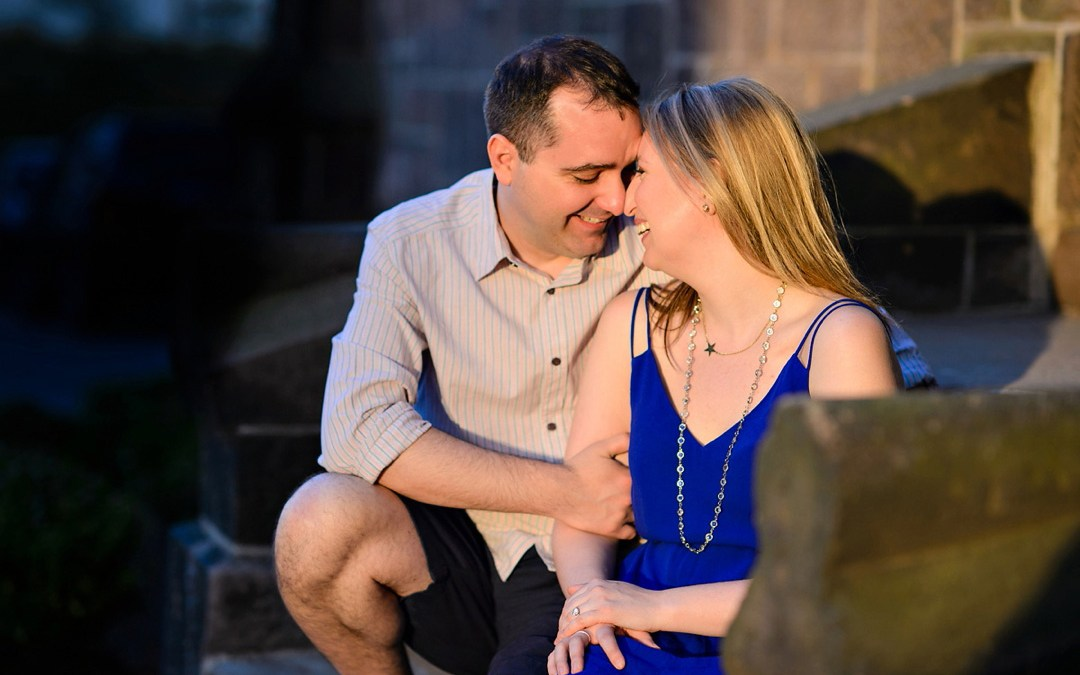 Rutgers New Brunswick Engagement Photos | Caitlin & Ryan