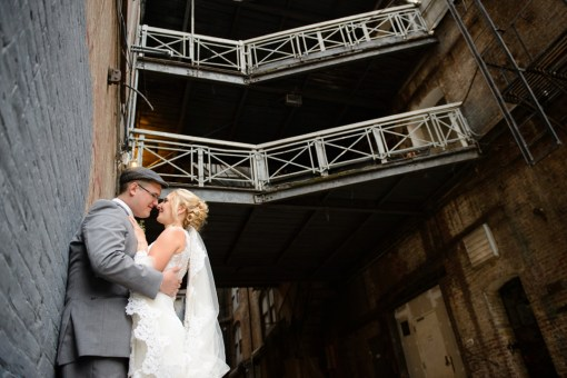 Lindsey & John's Greenpoint Loft Wedding