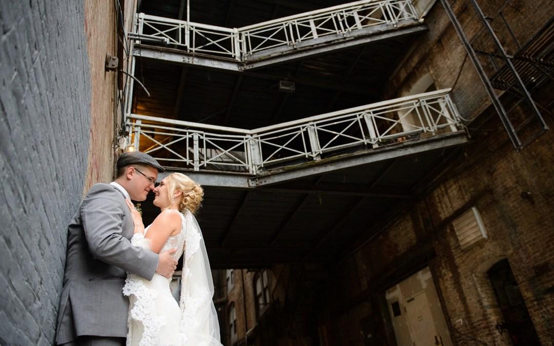 Greenpoint Loft Wedding Photos | Lindsey + John