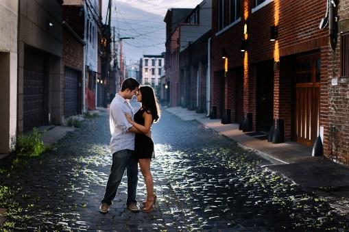 Mollie & Logan's Hoboken Engagement Photos