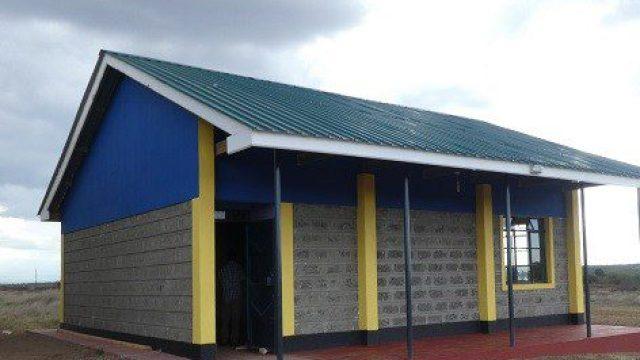 エンキジャペ校の新築した特別支援学級用教室