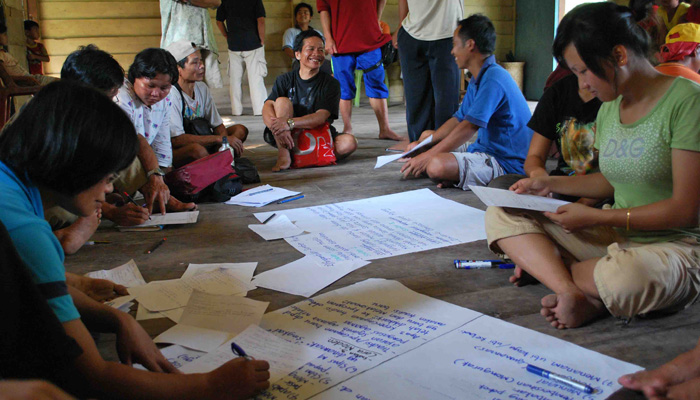 BCP group discussion during 1st workshop