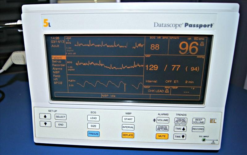 Datascope Passport 5L Patient Monitor