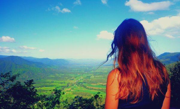 overlooking the pioneer valley