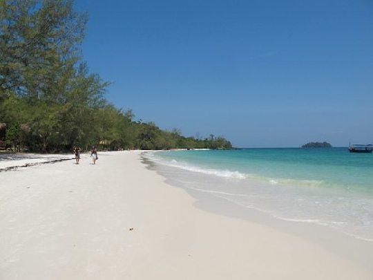 koh rong island beaches