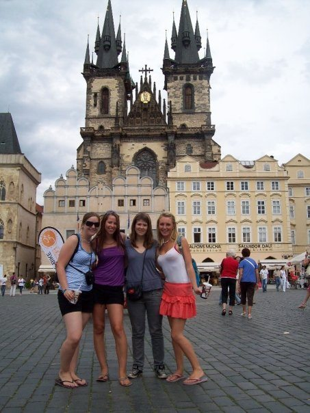 In Prague on my first big trip that gave me the travel bug