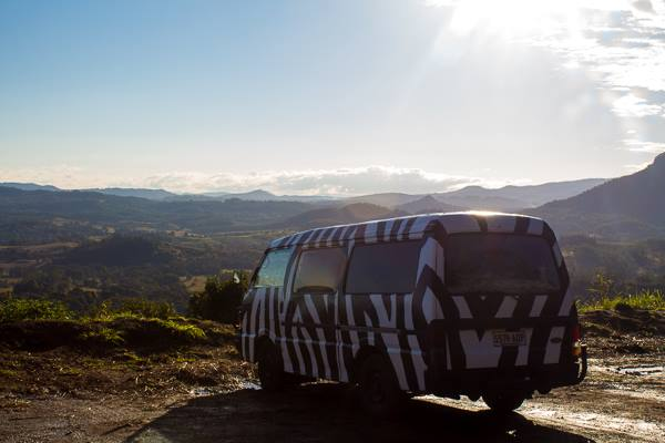 zebra campervan australia working holidau