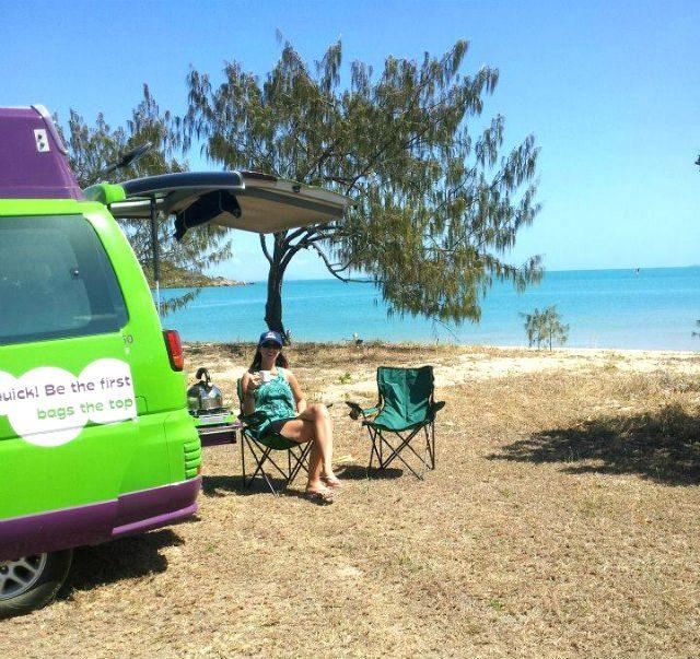 jucy camper van hideaway bay