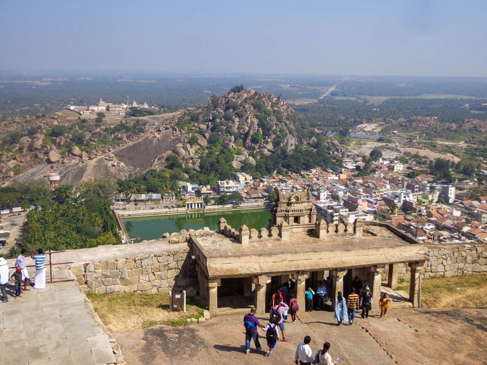 The view from Shravanabelagola