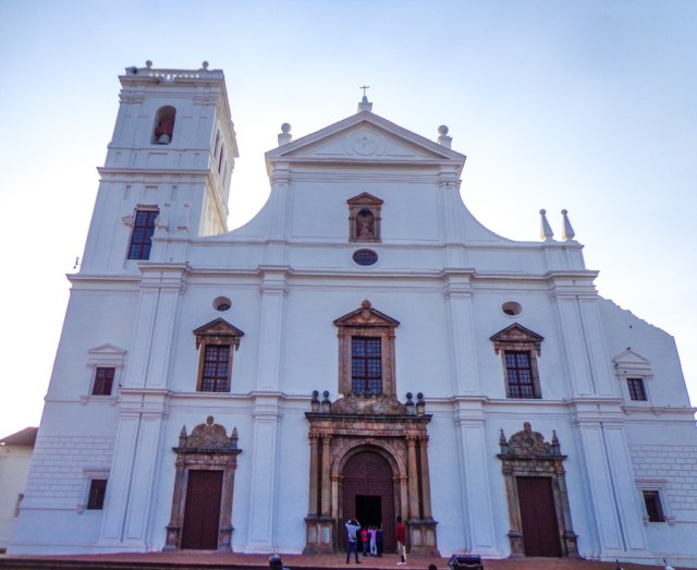 Se Cathedral in Old Goa, India