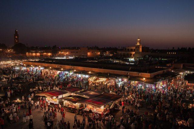 Marrakesh in Morocco.