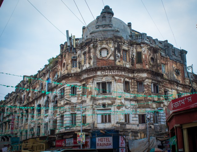 decrepit buildings kolkata