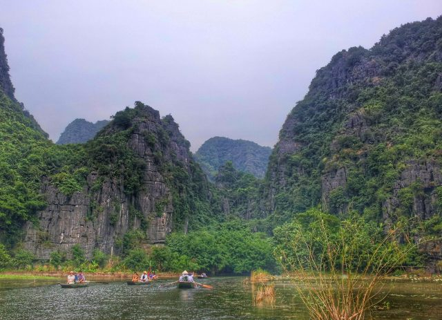 Scenery around Tam Coc, Vietman