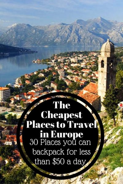 The Cheapest Places to backpack in Europe (1)