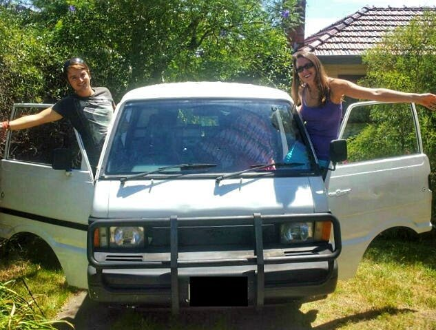 Ready to hit the road with our new campervan!