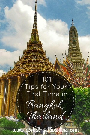101 Tips for your first time in Bangkok, Thailand