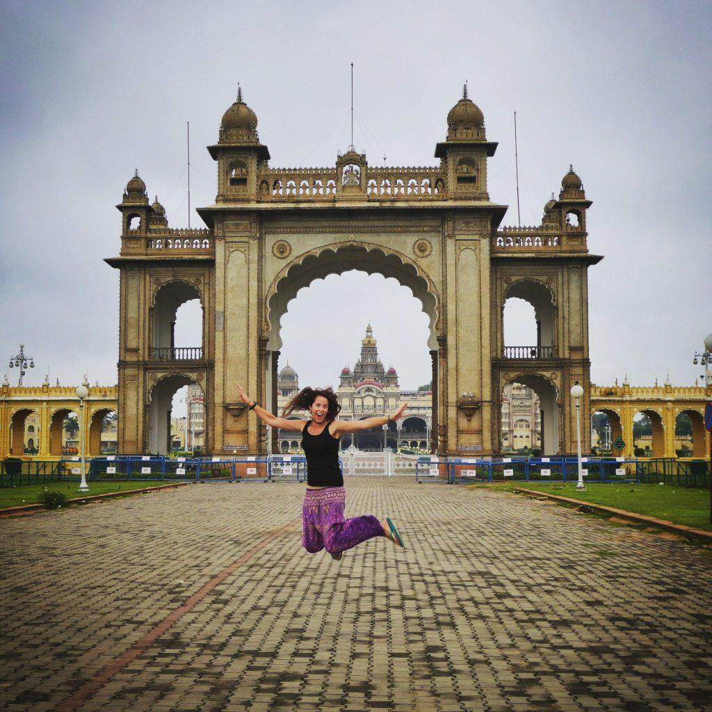 Enjoying Mysore
