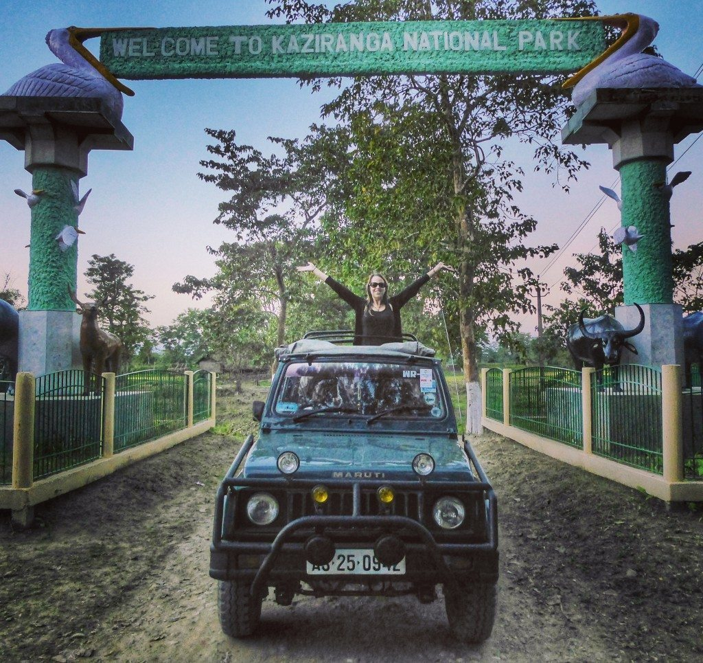 Welcome to Kaziranga National Park, Assam