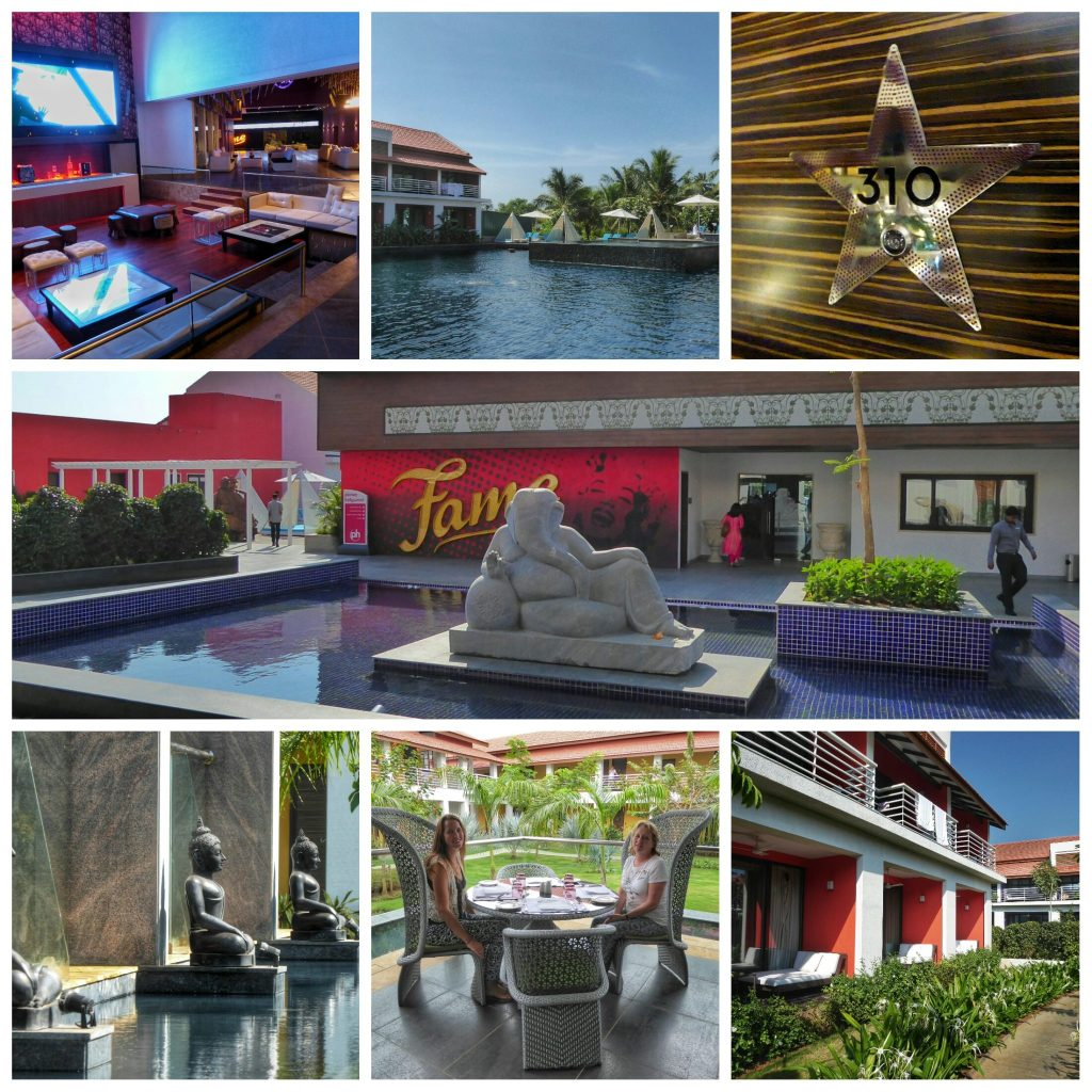 The glamorous Planet Hollywood Resort in Goa