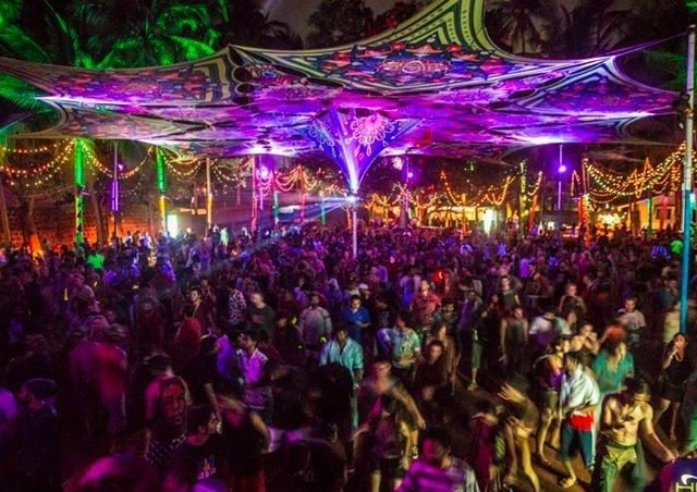 Hilltop nightclub in Vagator best nightlife in goa