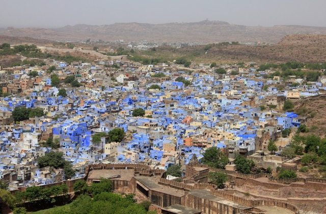 Views over Jodhpur - the blue city