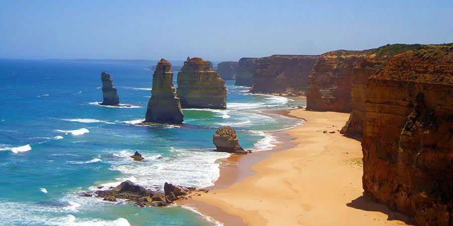The 12 Apostles on the Great Ocean Road, Australia