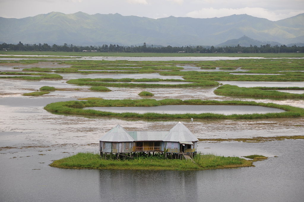 A_home_on_Loktak_Lake_Moirang_Manipur_India