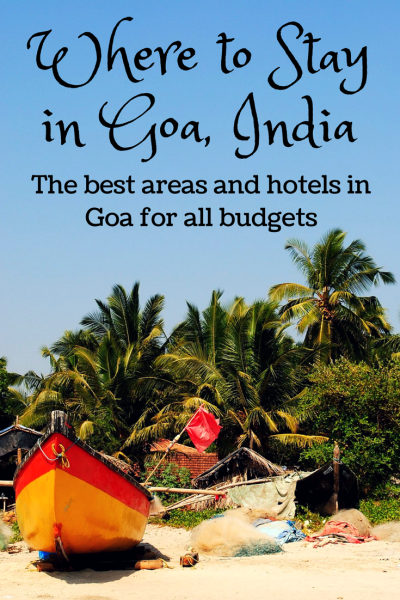 where to stay in goa, india