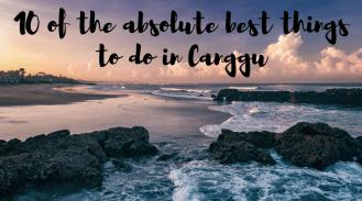 Canggu Beach at sunset. Photo credit: Stilo (Shutterstock)