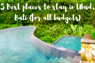5 Best places to stay in Ubud, Bali (for all budgets)