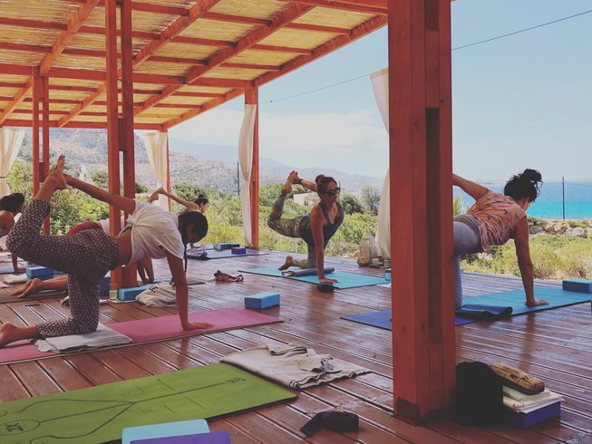 concious yoga academy yoga teacher training in greece