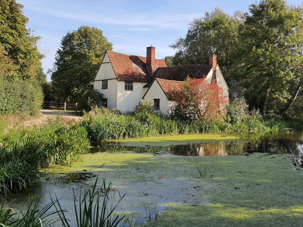 flatford mill constable country suffolk