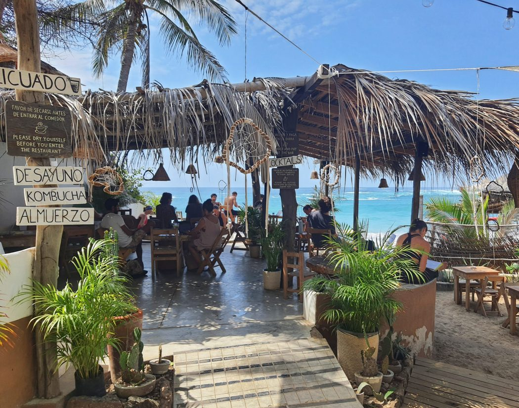 beach cafe mazunte mexico