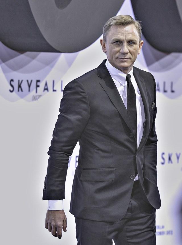 skyfall premiere in Berlin with Daniel Craig