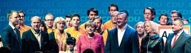 cdu and Angela Merkel